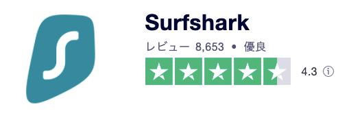 Surfshark、評判、口コミ