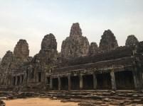 Bayon Temple in Cambodia.