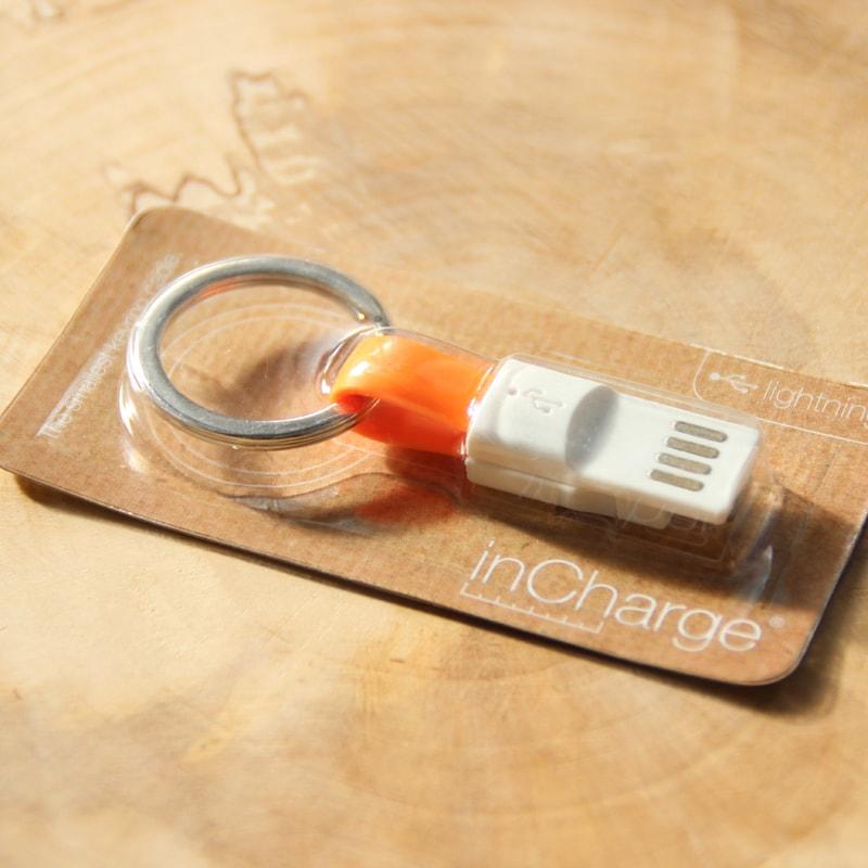 InCharge Oplader Lightning Orange