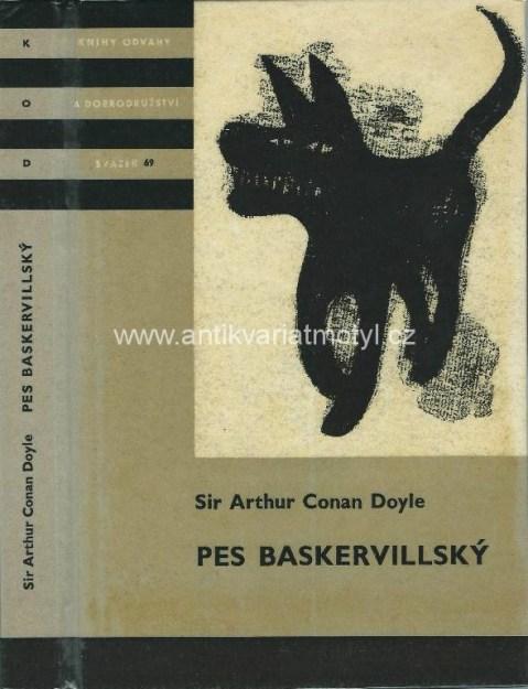 Výsledek obrázku pro arthur conan doyle pes baskervillský obálka
