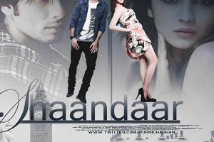 Shaandaar Alia Bhatt and Shahid Kapoor Movie Release Date 22nd of October 2015 Songs Cast Poster