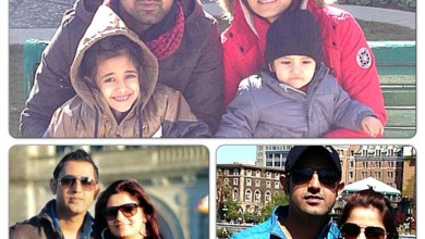 Gippy Grewal Family Background Pictures Wife Son Brother Father Mother Name