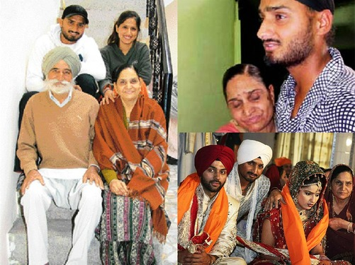 Harbhajan Singh Family Members Mother Father Sister Brother Wife Name