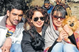 Kangana Ranaut sister and brother