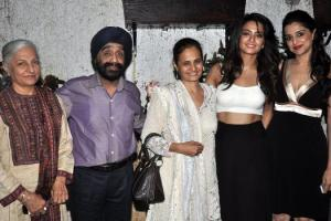 Surveen Chawla Family Photos Mother Sister Brother Father Name