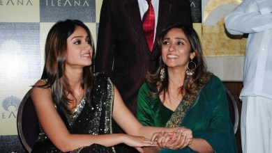 Ileana d'cruz with Mother
