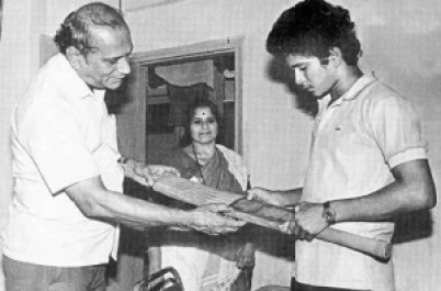Sachin Tendulkar father