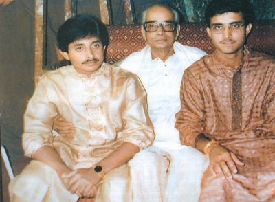 Sourav Ganguly father