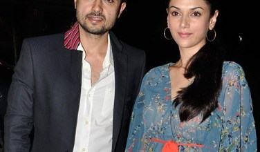Aditi Rao Hydari with Her Husband Satyadeep Mishra