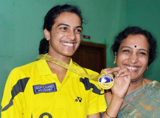 P.V. Sindhu Family Photos, Mother, Age, Full Name