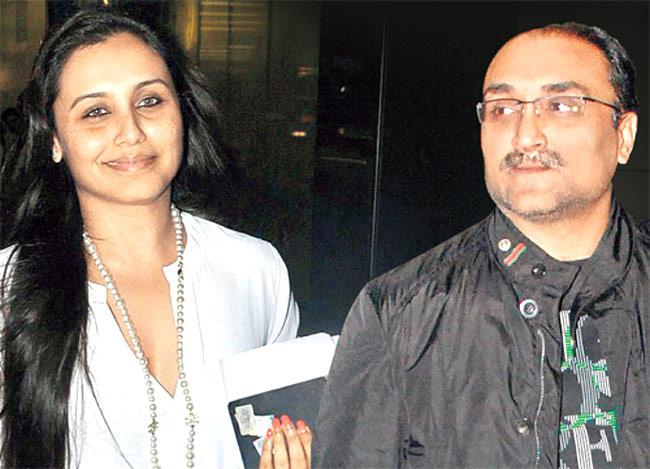Rani Mukherjee Family Photos, Husband, Daughter, Father ...