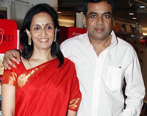Paresh Rawal Family Photo, Wife, Son, Daughter, Age, Biography