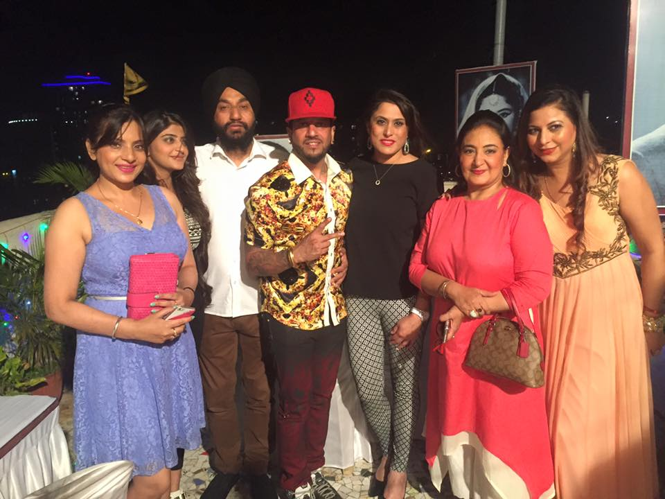 Jazzy b family photos father wife age biography for H s bains sons