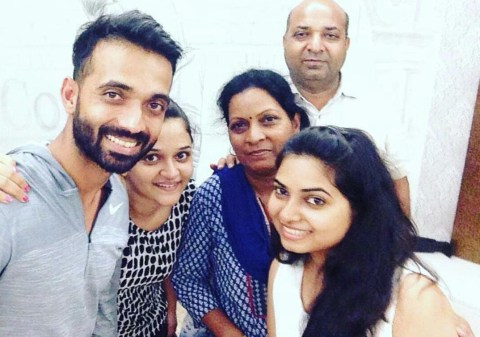 Ajinkya Rahane Family Photos, Father, Mother, Wife, Height, Biography