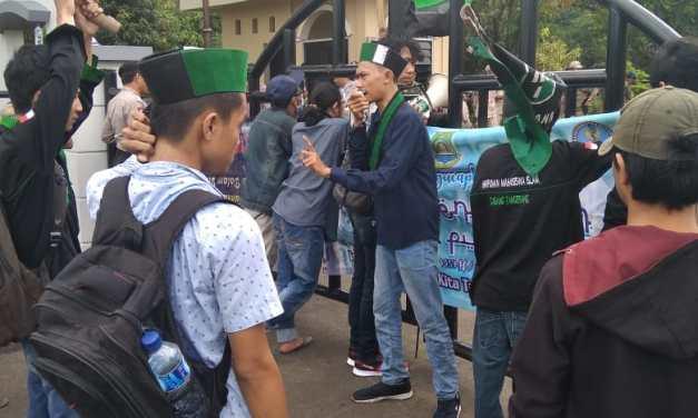 Gelar Aksi Demo, Mahasiswa Minta Pemkot Kelola APBD Tepat Sasaran