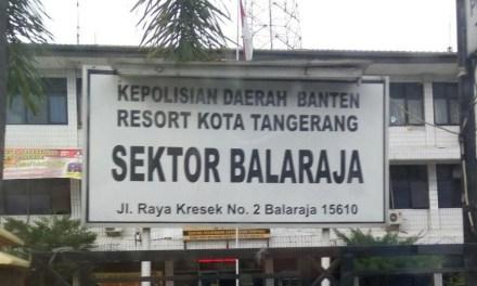 Beredar Info, Diduga Beberapa Tahanan Polsek Balaraja Kabur