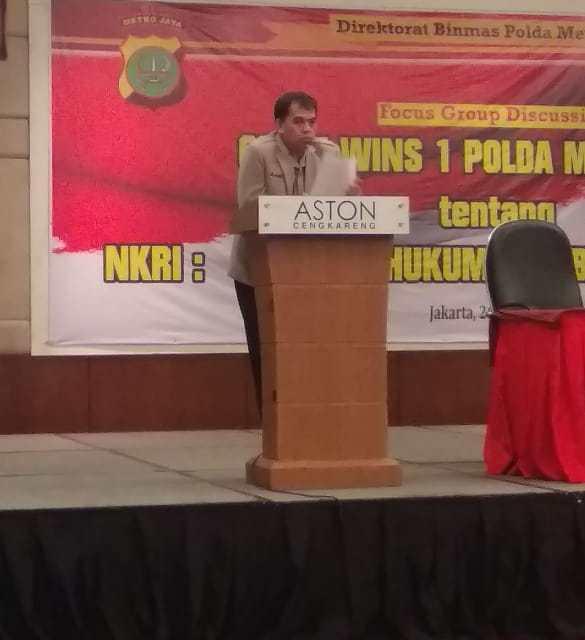 Ditbinmas Polda Metro Jaya Gelar FGD di Hotel Aston Cengkareng City