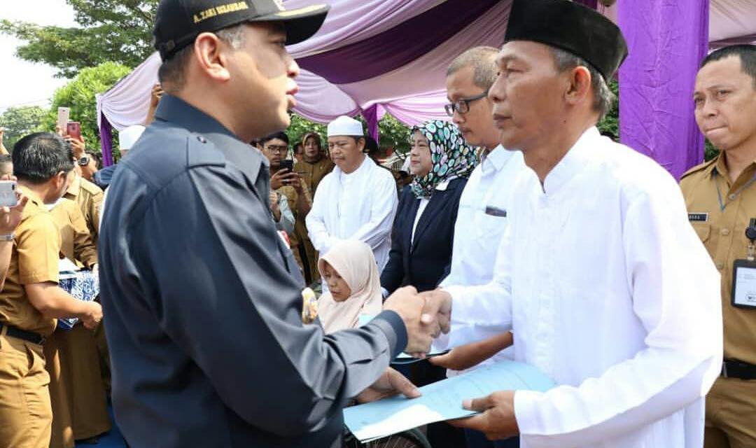 Pemkab Tangerang Beri Bantuan Tunai ke Warganya Kena Korban Tsunami