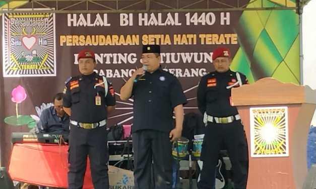 Pasca Lebaran, PSHT Ranting Jatiuwung Gelar Halal Bihalal