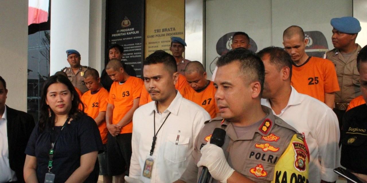 Bikin Orderan Fiktif 8 Pengemudi Online Diamankan Polisi