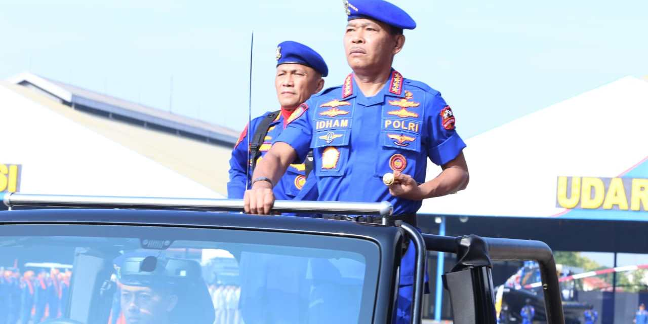Kapolri Pimpin Upacara Parade HUT ke-69 Korpolairud