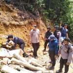 Satgas PETI Polda Banten Kembali Temukan Puluhan Lubang Tambang Emas Ilegal