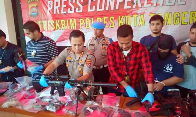 Diduga Rakit Senpi Ilegal, Oknum Karyawan BUMN Ditangkap Polisi