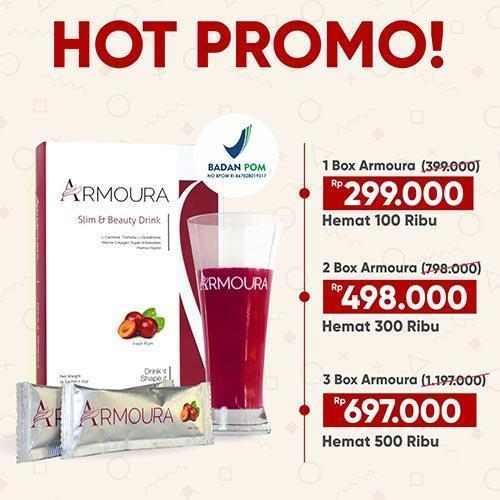 Armoura Slimming Beauty Drink 17