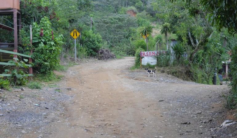 コスタリカの先住民族居住区を訪問