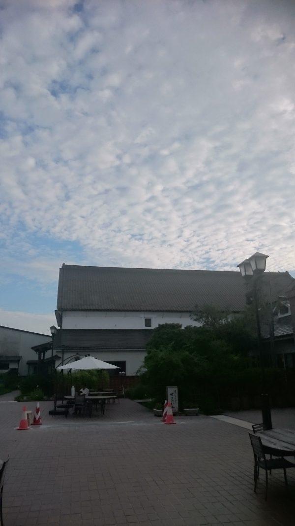9月に入り世嬉の一の朝夕は涼しくなりました。