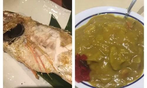 黄色い万代カレーと、五郎万代店で美味しい黒むつを食べてきた!【新潟旅行】