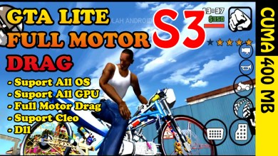 Photo of GTA SA LITE FULL MOTOR DRAG S3 Android Terbaru