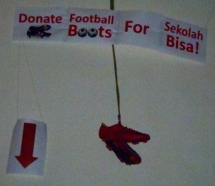 Donate your old football boots