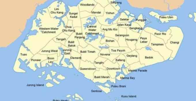 Peta Singapura Beserta Asal Mula, Budaya, Etnis (Paling Lengkap) 1