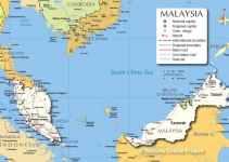 Peta Malaysia beserta wilayah, iklim, dan kekayaan alam (Terlengkap) 6