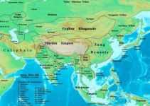 Peta Benua Asia Lengkap besarta Geografis dan Sejarahnya 2