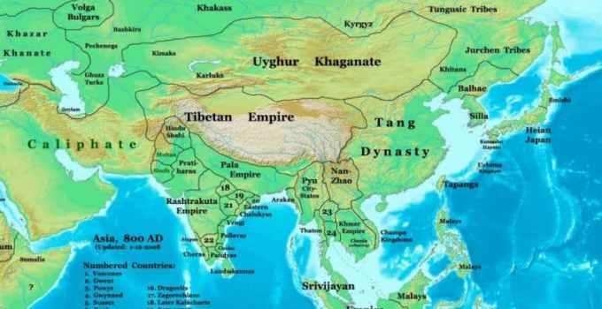 Peta Benua Asia Lengkap besarta Geografis dan Sejarahnya 1