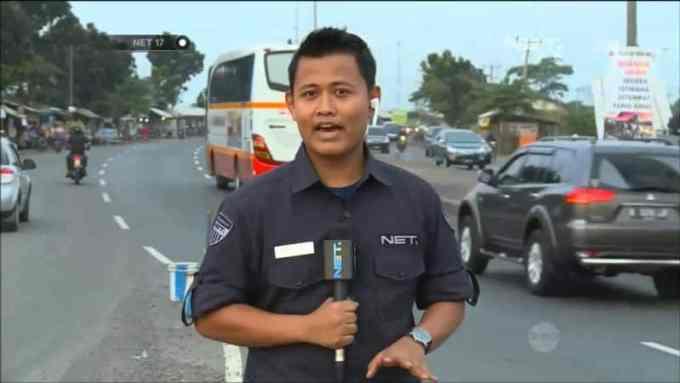Contoh Teks Reporter Arus Mudik