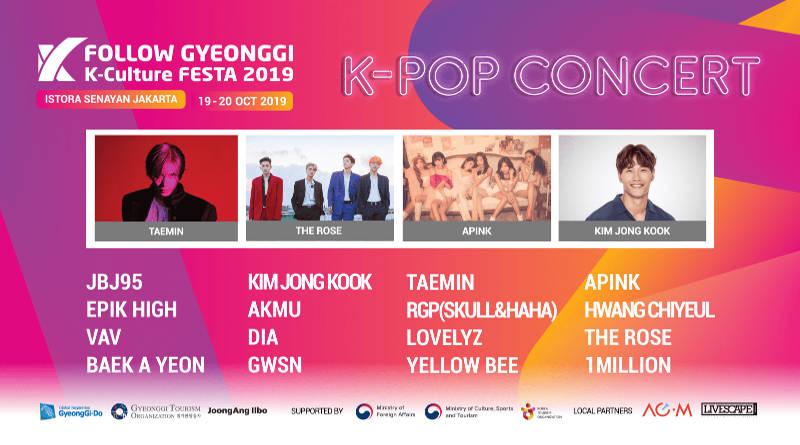 Foto: Gyeonggi K-Culture FESTA 2019 (Dok. Instagram)
