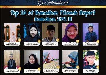 Siswa SMP Islam Tahfidz Qur'an Al Fath Mengikuti Lomba Daring Ramadhan