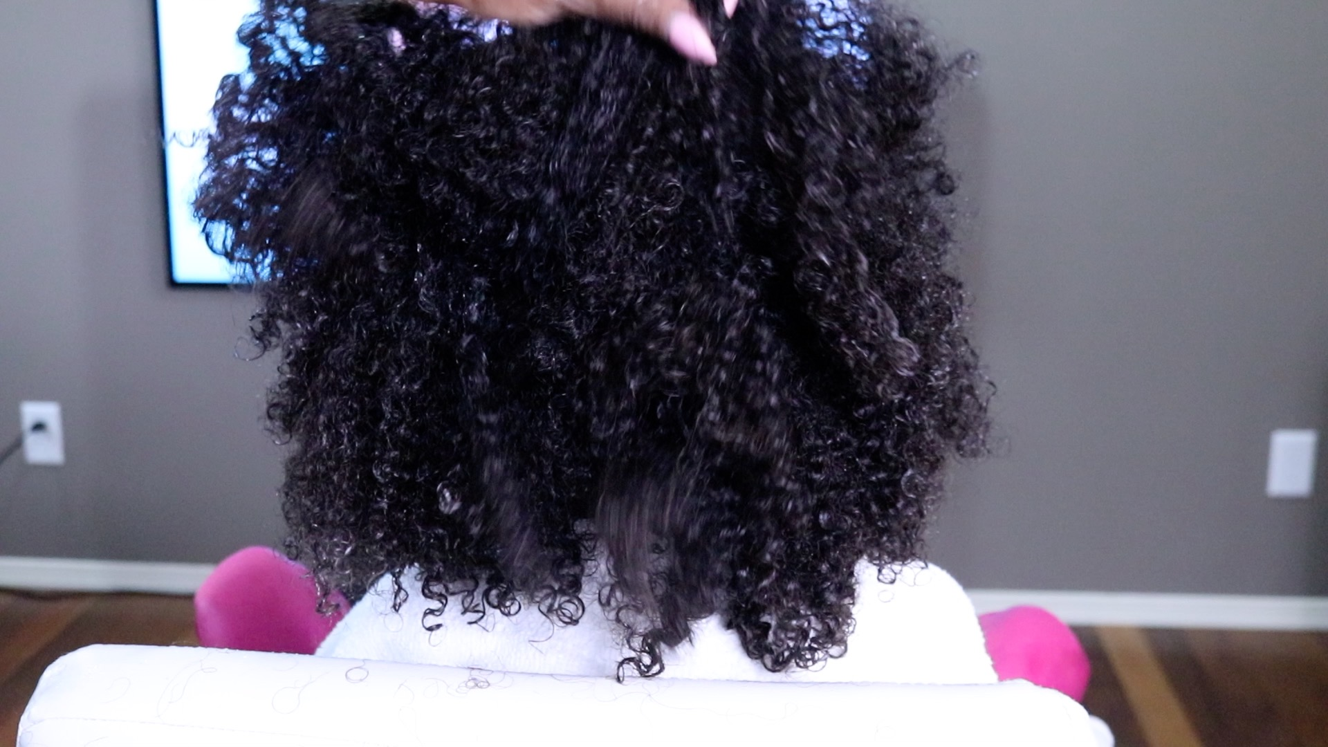 How You NEED to Be Applying Hair Product To Your Curly Girl's Hair ...