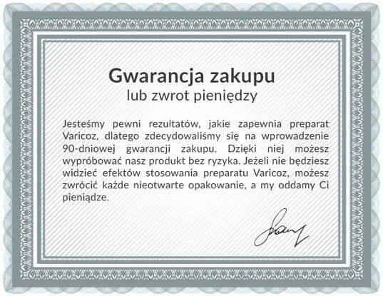 varicoz-gwarancja