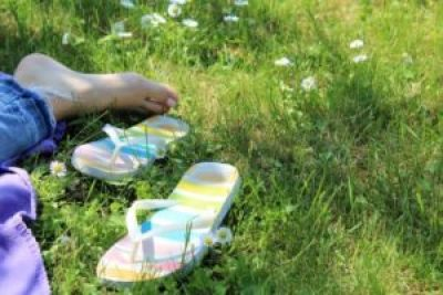 na boso bez butów