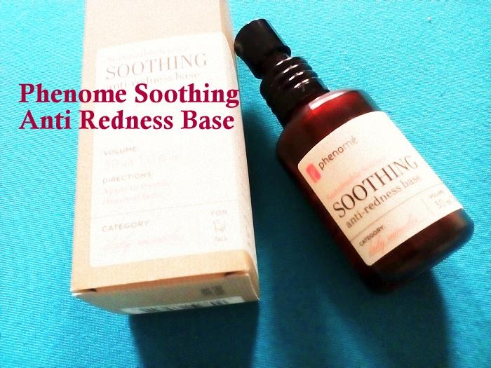 Phenome Soothing Anti Redness Base