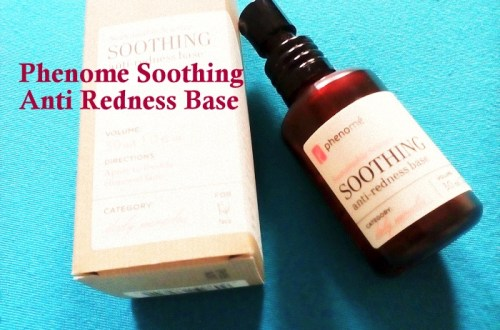 Phenome Soothing Anti Redness Base