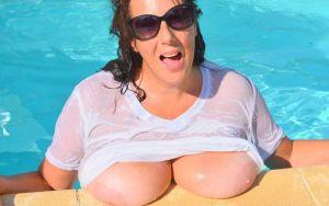 Lulu Lush, mature amateur vrouw met grote tieten