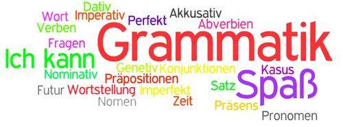 Langeweile war gestern: Grammatik