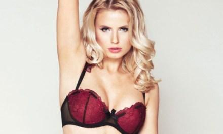 Olga Rzeplinska, uitermate sexy in lingerie