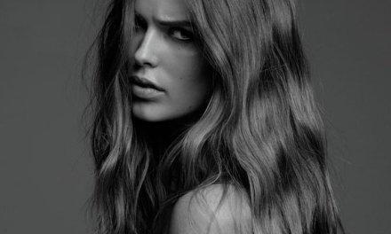 "Robyn Lawley, een ""stevig"" model, in GQ Australië"