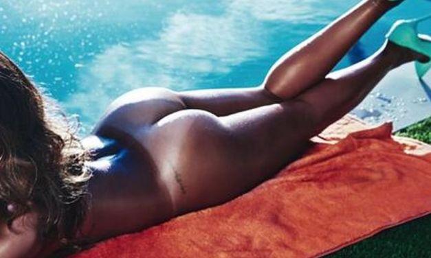 Rihanna, wederom topless en uitermate sexy